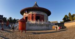 Temple in Beijing Tiantan ancient building Stock Footage