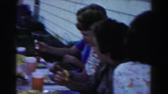 1962: lunch & ladies HAGERSTOWN, MARYLAND Stock Footage