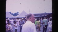 1962: everyone gathering at the fair HAGERSTOWN, MARYLAND Stock Footage