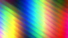 Colored Wavy Lights Flowing Down Loop Abstract Background Stock Footage