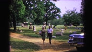 1962: a old couple is seen HAGERSTOWN, MARYLAND Stock Footage