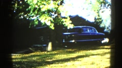 1962: a forest area is seen CHICAGOLAND AREA Stock Footage