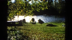 1962: a river is running through it CHICAGOLAND AREA Stock Footage