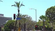 Downtown LA, Alameda street Stock Footage