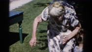 1962: a grandmother is seen with a child CHICAGOLAND AREA Stock Footage
