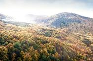 Mountains in Slovakia: Beautiful landscape in autumn. Colorful f Stock Photos