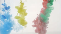 Colorful background of abstract colors Stock Footage