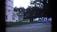1962: a outdoor scene CHICAGOLAND AREA Stock Footage