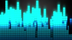 Jumping Music Bars Stock Footage
