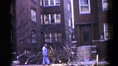 1962: a deforest scene is seen CHICAGOLAND AREA Stock Footage