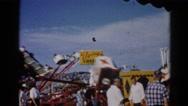 1962: an amusement park CHICAGOLAND AREA Stock Footage