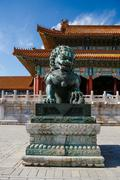 The Palace Museum in the Forbidden City, China Stock Photos