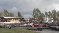 City Racing Stock Footage