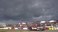 Racing Car Stock Footage