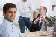 Good work atmosphere is the basic Stock Photos