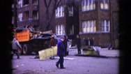1962: a residential area is seen CHICAGOLAND AREA Stock Footage