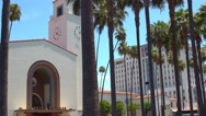 The Union Station, Los Angeles Stock Footage