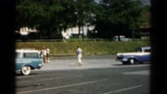 1966: a car is seen HAGERSTOWN, MARYLAND Stock Footage