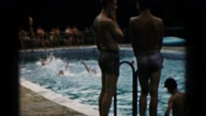 1966: a swimming scene HAGERSTOWN, MARYLAND Stock Footage