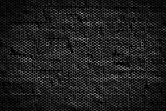 Black and rust metallic mesh background texture Stock Illustration