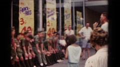 1966: scout speech in progress HAGERSTOWN, MARYLAND Stock Footage