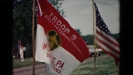 1966: flags are seen HAGERSTOWN, MARYLAND Stock Footage