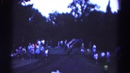 1966: marching in a straight line at a parade. HAGERSTOWN, MARYLAND Stock Footage