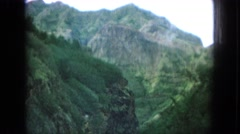 1964: a scenic view while driving in the countryside somewhere HAWAII Stock Footage