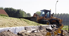 Making silage, agriculture Europe Stock Footage