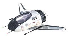 3D futuristic drone Stock Illustration