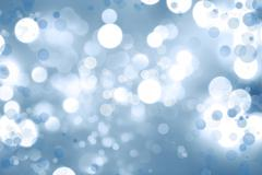Abstract blue and white circles background Stock Illustration