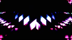 Abstarct shapes vj loop Stock Footage