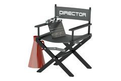 Video, movie, cinema production concept Stock Illustration