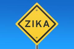 Zika virus sign Stock Illustration