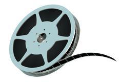 Film reel closeup Piirros