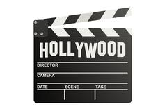 Hollywood Clapper board Stock Illustration