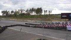 Car Race Stock Footage