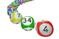 Lottery balls 3D Piirros