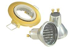 Recessed light with LED (Light Emitting Diode) lamps, 3D rendering Stock Illustration