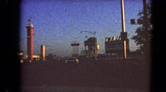 1966: a road trip is seen BARSTOW, CALIFORNIA Stock Footage