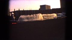 1966: a fountain is seen BARSTOW, CALIFORNIA Stock Footage