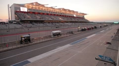 Evening Race at Circuit of the Americas Stock Footage