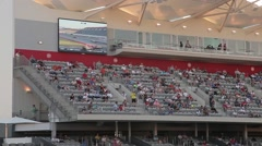 Circuit of the Americas - Crowd and Screen Stock Footage