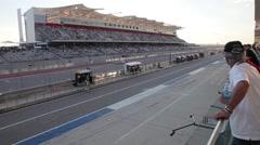 Circuit of the Americas Spectators Stock Footage