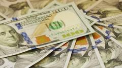 United States dollar (American dollar) Stock Footage