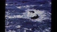 1952: looking at body of water from the top INTERNATIONAL WATERS Stock Footage