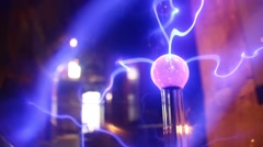 Electrical current sci-fi Stock Footage