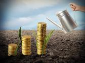 Growing the economy Stock Photos
