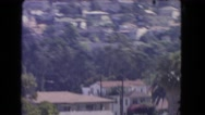1966: a residential area is seen CATALINA, CALIFORNIA Stock Footage