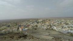 Espargos city on sal island Stock Footage